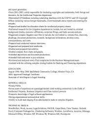 Legal Resume Sample by Corporate Paralegal Resume Objective Corporate Paralegal Resume