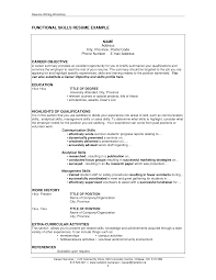 Summary Of Qualifications Sample Resume by Resume Skills And Qualifications Examples Resume Templates