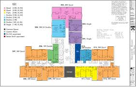 Floor Planners by Floor Plans College Houses U0026 Academic Services