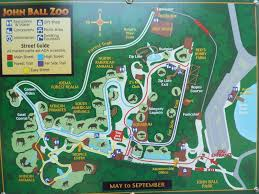 Blank Park Zoo Map by John Ball Zoo Photo Galleries Zoochat