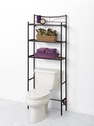 bathroom 2 tier floating shelves over toilet installing