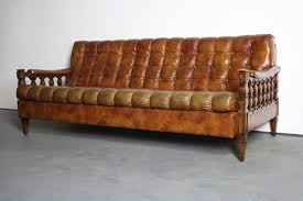 tufted sofa 1970 u0027s spanish colonial revival tortoiseshell tufted sofa u2013 abt modern