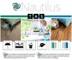 Laminate Flooring No Transitions Laminate Style Nautilus Wide Color Carriage Tas Flooring