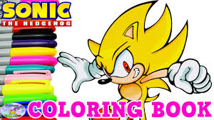super sonic coloring pages sonic the hedgehog coloring book super sonic episode surprise egg