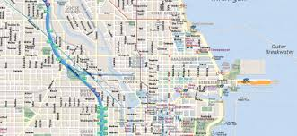 Printable Map Of Disney World Map Of Chicago Interactive And Printable Maps Wheretraveler