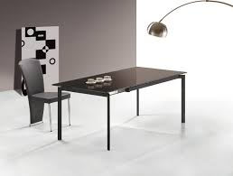 Contemporary Dining Room Table by Modern Dining Room Tables Shaped Modern Black Dining Room Table