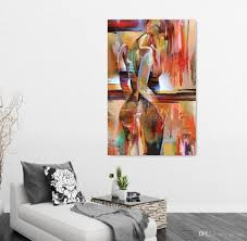 Home Decor Walls Colored Drawing Body Art Portrait Painting Figure