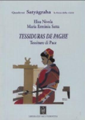 Risultati immagini per Tessiduras de paghe-Tessiture di pace