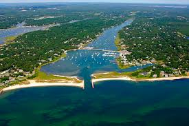 green pond harbor in east falmouth ma united states harbor
