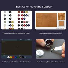 Best Color Codes Amazon Com Coconix Leather And Vinyl Repair Kit Restorer Of