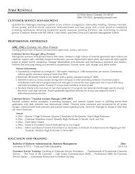 Resume Examples  Resume Example For Customer Service Management With Professinal Experience As National Account Manager     Rufoot Resumes  Esay  and Templates