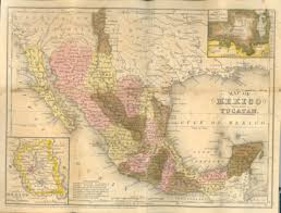 Mexico Map 1800 by University Of South Carolina Libraries Rare Books And Special