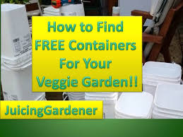 container garden ideas how to find free containers for your