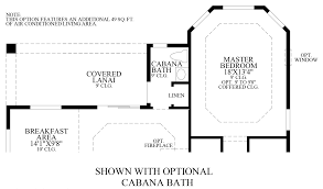 Cabana House Plans by Coastal Oaks At Nocatee Heritage Collection The Anastasia Home