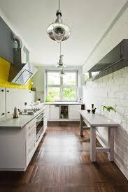 Wallpaper For Backsplash In Kitchen Kitchen Modern Kitchen Design With Stunning Brick Backsplash