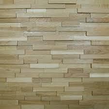 wallure striped oak narrow sleek varnished wooden wall panel