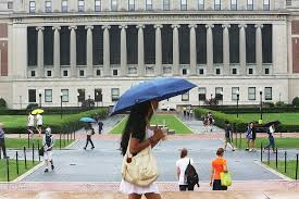 College Essays  How to Write an Entrance Paper Successfully   WSJ Wall Street Journal People walk on the Columbia University campus in July  The grim statistics of the college