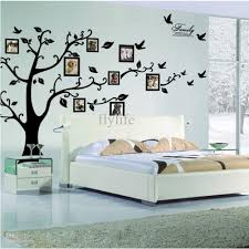 tree wall stickers stylish home decor dhgate removable tree wall stickers large size black family photo frames diy home