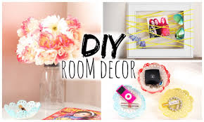 diy room decor for cheap simple u0026 cute youtube