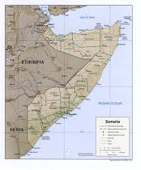 Physical Map Africa by Somalia Physical Map 2002 Full Size