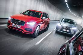 lexus vs audi q3 giant test lexus rx vs volvo xc90 vs audi q7 2016 by car magazine