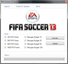 FIFA 13 - Fifa Points Triche Manager Budget Telecharger Astuce