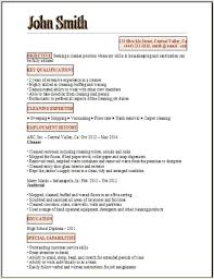 Free Resume Template and Cover Letter Powerful Sample Resume Formats com