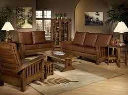 Wood Sofa Designs 2015 Living Room Brown Wood Sofa Chair Design With Moroccan Wall