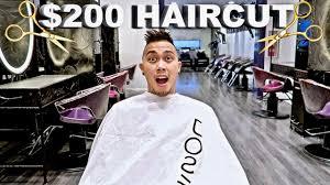 free haircut vs 200 haircut youtube