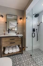 Black And White Small Bathroom Ideas Best 25 Farmhouse Bathrooms Ideas On Pinterest Guest Bath