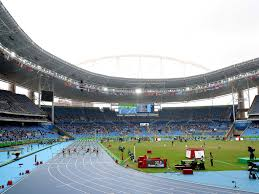 rio 2016 olympic athletics competition gets underway in empty