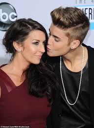 Justin Bieber admits his relationship with mother Pattie has     Daily Mail