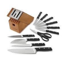 amazon com calphalon classic self sharpening cutlery knife block