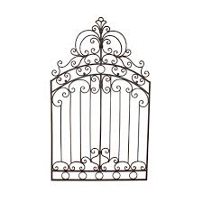 metal gate wall art details about tuscan wrought iron 50