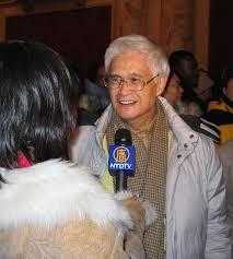 Dr. Chou Chun-tang is interviewed at the Boston Opera House - 2008-1-9-zhouchuntang