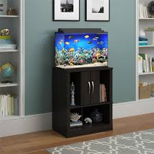 inspiring rounder pillar aquarium design for living room entrance