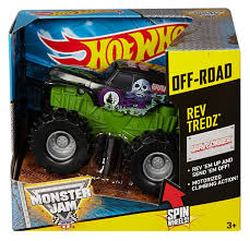 monster truck show discount code amazon com wheels monster jam rev tredz grave digger truck