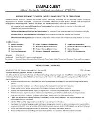 Best Tech Resume by Examples Of Technical Resumes Technical Resume Examples