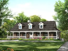 9 country house plans with porches on the front southern style