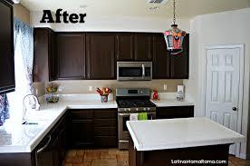 how to refinish your kitchen cabinets latina mama rama