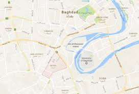 Iraq Syria Map by Vbied Explodes Near Al Bayaa Area Of Baghdad Killing Two And