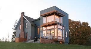 modern extension to traditional farmhouse modern farmhouse