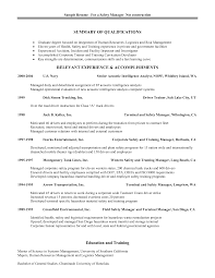 Construction Management Resume Examples by Download Safety Manager Resume Haadyaooverbayresort Com