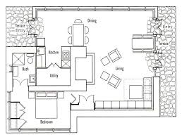 Small Cottage Floor Plan Smartness Inspiration Cottage Layouts Plans 12 Tiny House Floor