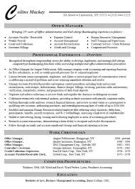 Resume Sample For Human Resource Position by Office Administrator Resume Example
