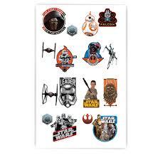 Star Wars Room Decor Australia by Star Wars 7 The Force Awakens Tattoos Birthdayexpress Com