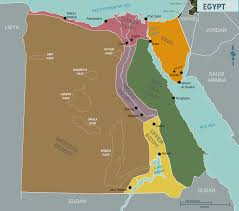 Map Egypt Egypt Region Map Egypt Political Map Region Map Of Egypt Egypt