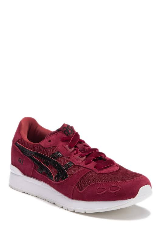 ASICS GEL-Lyte Sneakers Burgundy- Womens