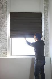 how to hang a roman shade how tos diy