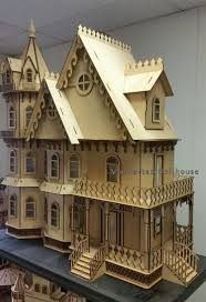 leon gothic victorian mansion dollhouse kit leon gothic victorian